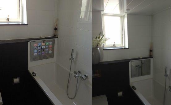 Badkamer tv beste inspiratie voor huis ontwerp badkamer spiegel tv - Spiegel tv badkamer ...