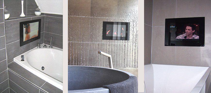 Splashvision de specialist voor badkamer tv 39 s spiegel tv for Tv voor in badkamer