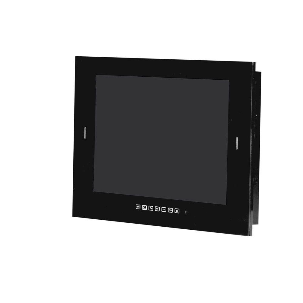 Zwarte Bad TV 19 inch met DVB-S2 & DVB-C tuner - SV25