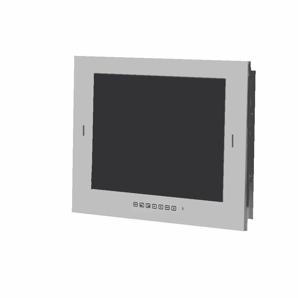 Zilvergrijze badkamer LED TV 22 inch met DVB-S2 & DVB-C tuner - SV50